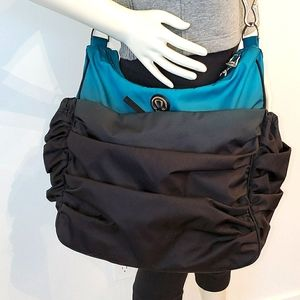 Lululemon Hot Yoga Yoga Bag Ombre Black & Teal